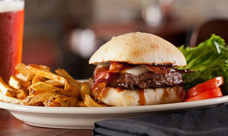 Hamburger plate