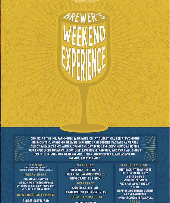 Brewer's Weekend Experience